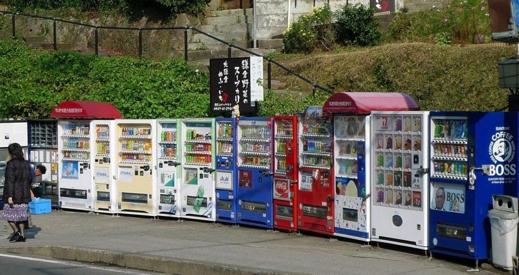 Японские вендинговые автоматы