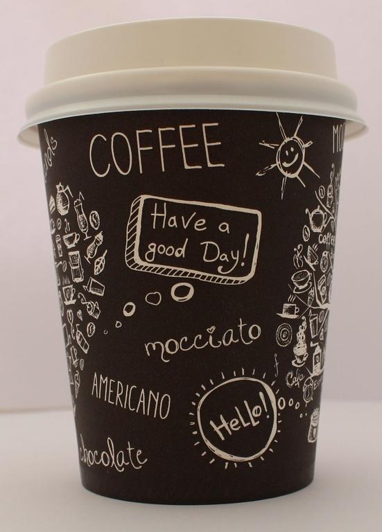 Бумажные стаканы для вендинга Paper-cups